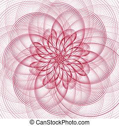 wave flower