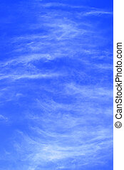 wave like clouds - clouds against a blue sky