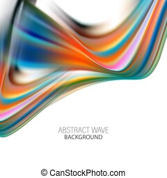 Wave Liquid shape color background. Art design for your design project. Vector illustration EPS10