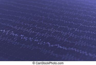 wave oscillations, brain waves