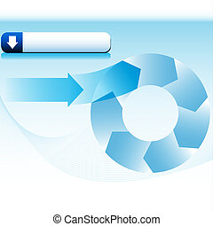 Wave Wheel Process Chart - An image of a wave wheel process...