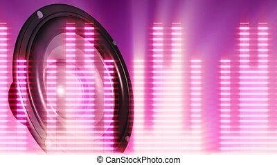 waveform , μεγάφωνο