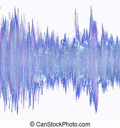 waveform, coloridos