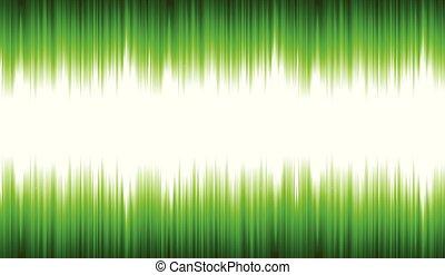 waveform, elvont, beszéd, synthetizer