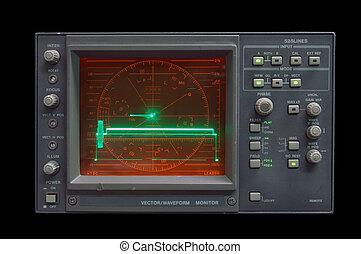 Waveform Monitor - audio vector/waveform monitor idling - ...