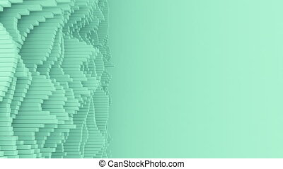 waveforms, abstrakcyjny, kopia, 4k, space.