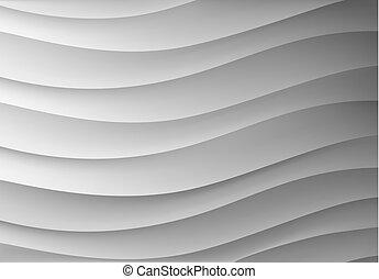 waves., fundo, forma