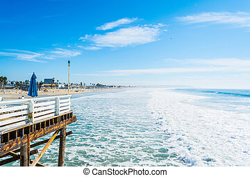 Waves in Pacific Beach