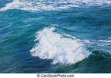 Waves in sea
