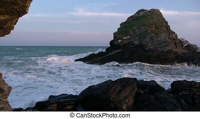 waves in the islet