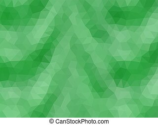 Waves low poly triangle style vector mosaic background