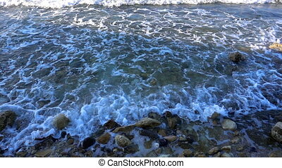 Waves near the Beach