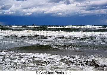 Waves of the Black Sea, Anapa, Krasnodar Krai