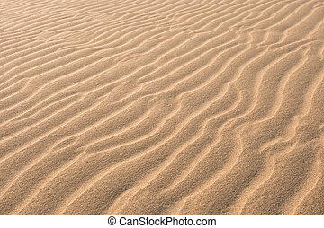 Waves on sand dunes in Chaves beach Praia de Chaves in ...