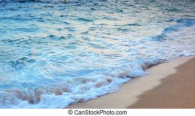 Waves on sea.