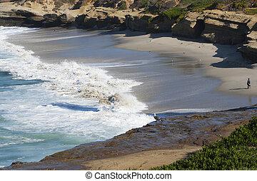 waves on the beach 2