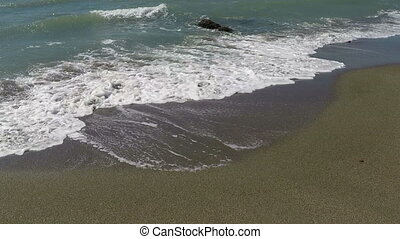 Waves On The Sand