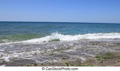 waves on the sea surface