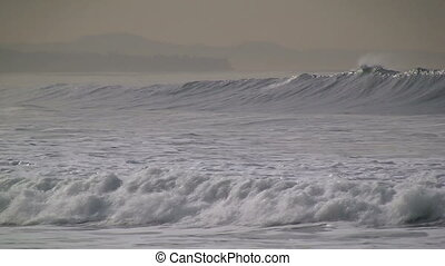 Waves rolling In At Dawn