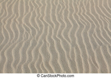 Waves sand on the beach, naturel background