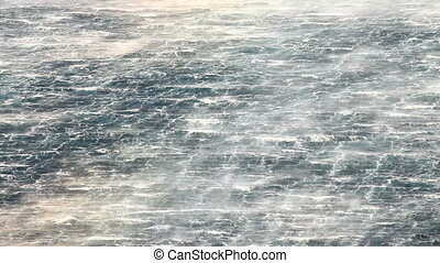 Waves - Stormy waves of the sea
