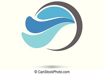 waves water vector dsign