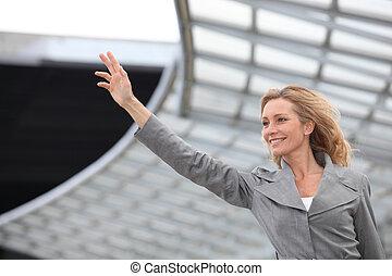 waving, executiva
