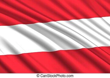 waving flag background