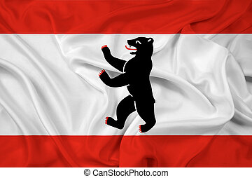 Waving Flag of Berlin