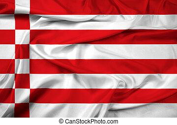 Waving Flag of Bremen