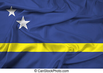 Waving Flag of Curacao
