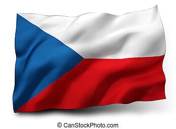 flag of Czech Republic - Waving flag of Czech Republic ...