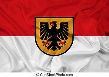 Waving Flag of Dortmund