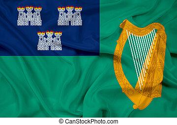 Waving Flag of Dublin