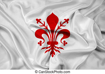 Waving Flag of Florence