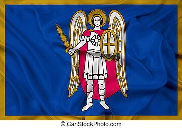 Waving Flag of Kiev