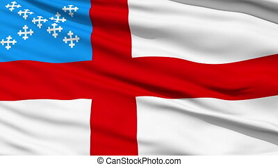 Flag Of The Episcopal Church - Waving Flag Of The Episcopal...