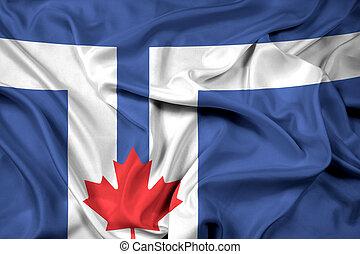 Waving Flag of Toronto