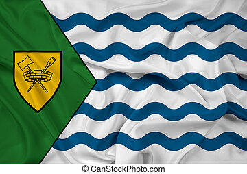 Waving Flag of Vancouver