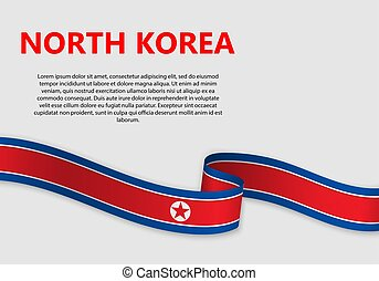 Waving Flag vector illustration