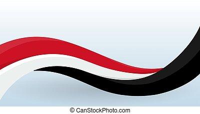 waving, incomum, illustration., modelo, cartaz, cartão, flag., nacional, modernos, forma., isolado, decoração, vetorial, desenho, voador, logo., bandeira, noruega
