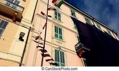 Italian Flags - Waving Italian Flags With A Beautiful...