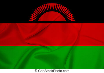 Waving Malawi Flag