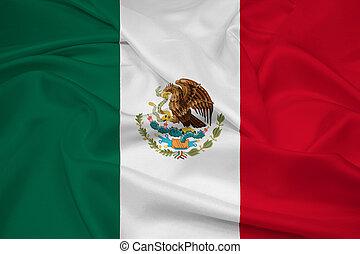 Waving Mexico Flag
