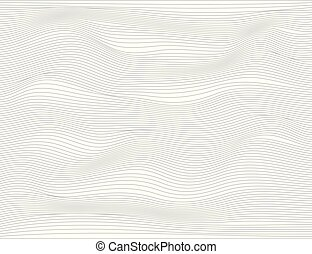 Wavy abstract dark lines. Vector texture stripes Pattern,...