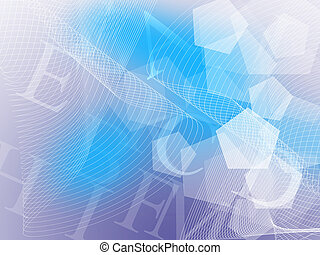 wavy business abstract background