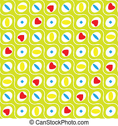 wavy circles pattern