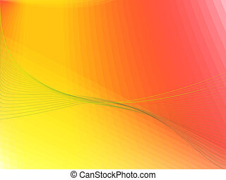 wavy colored background