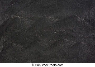 wavy eraser smudges on blackboard