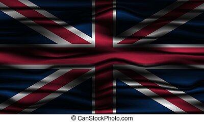 Wavy Flag of UK